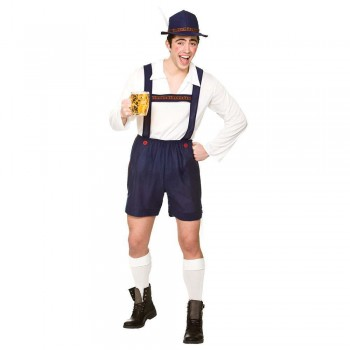 Bavarian Beer Guy Fancy Dress Costume (Oktoberfest)