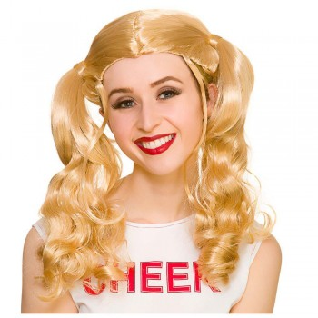Cheerleader Bunches Wig Accessory