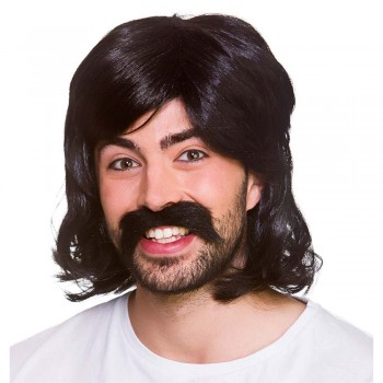70's Cool Guy - Black Wigs