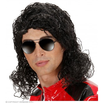 King Of Pop Wig In Box - Fancy Dress