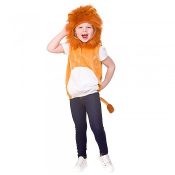 Child Tabard - Lion Animal Fancy Dress Costume