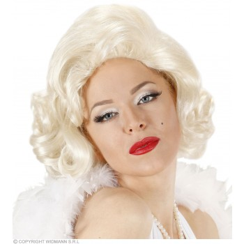 Ladies Marylin Wigs Boxed Blonde Wigs - (Blond)
