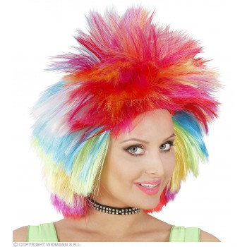 Rainbow Wig In Box - Fancy Dress