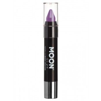 Moon Glow Pastel Neon UV Body Crayons Lilac
