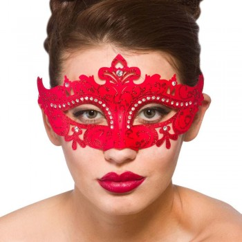 Demonte Eye Mask - Red Eyemasks
