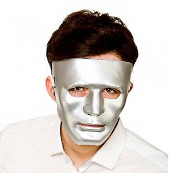 Robot Mask Deluxe - SILVER Halloween Masks
