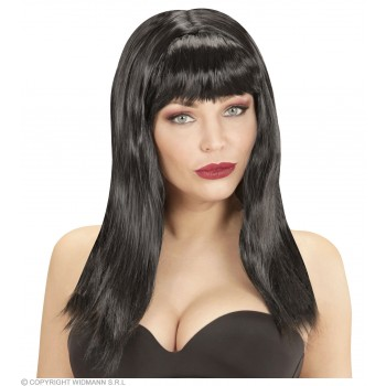 Pamela Wig Black - Fancy Dress