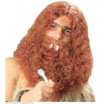 Caveman Wig/Beard Boxed - Fancy Dress