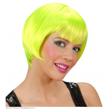 Rave Wig - Neon Green - Fancy Dress