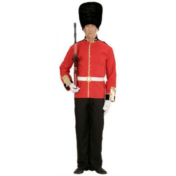 Mens Queens Royal Guard Fancy Dress Costume