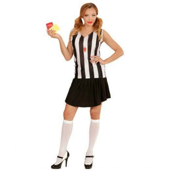 Ladies Sporty Referee Girl Fancy Dress Costume