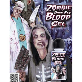 ZOMBIE DARK RED BLOOD GEL HALLOWEEN ACCESSORY