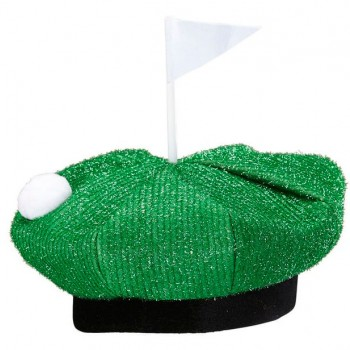 Adults Novelty Golf Course Hat Fancy Dress Accessory