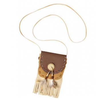 Native Indian Pouch/Bag Fancy Dress Accessory