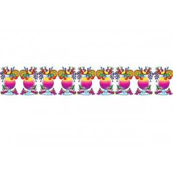 Tropical Hawaiian Cocktail Garland Fancy Dress Accessory