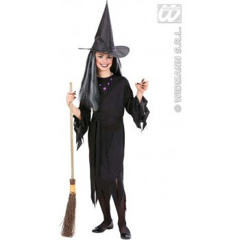 Witch Fancy Dress Costume Girls (Halloween)