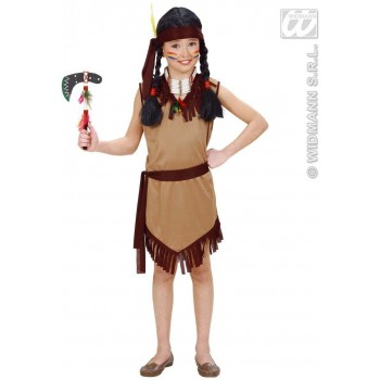Native American Girl Fancy Dress Costume Girls (Cowboys/Native Americans)