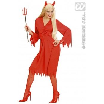 Devil Woman Fancy Dress Costume Ladies (Halloween)