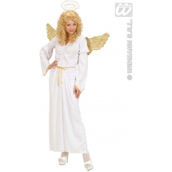 Angel Fancy Dress Costume Ladies (Christmas) (Does Not Include Wings)