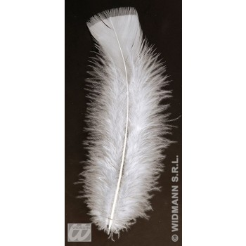Bag Of Feathers White - Fancy Dress