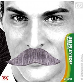 King Moustache 3 Cols Adhesive - Fancy Dress (Royalty)