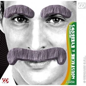 Gentleman Tash/Eyebrows 3 Cols - Fancy Dress