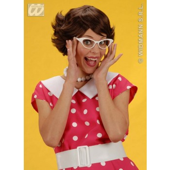 Audrey Wig - Brown - Fancy Dress