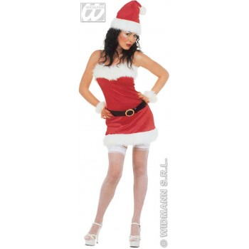 Flannel Miss Santa Costume Ladies (Christmas)