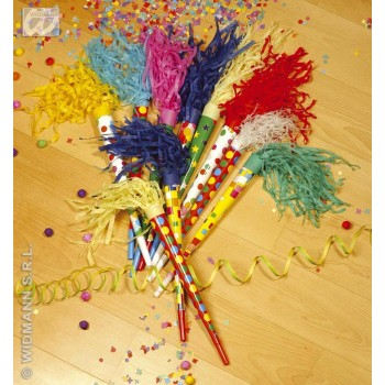 Paper Trumpets Abt 35Cm Colours Asstd - Fancy Dress