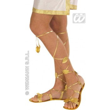 Golden Sandals - Fancy Dress