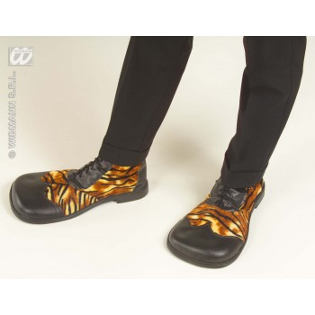 Party Shoes Tiger Design - Fancy Dress (Animals)
