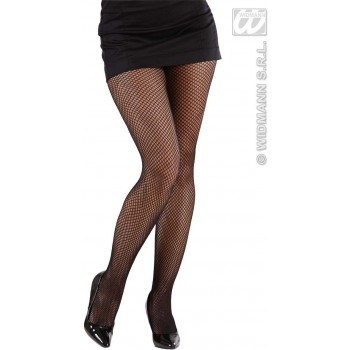 Xl Fishnet Pantyhose - Black - Fancy Dress