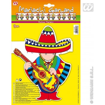 Mariachi Garlands - 3M - Fancy Dress