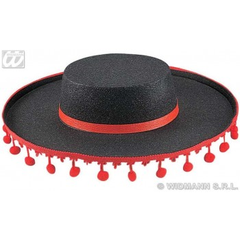 Flamenco Hat Felt - Fancy Dress (Spanish)