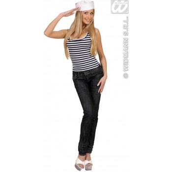Striped Sailor Shirt - Fancy Dress (Sailor)