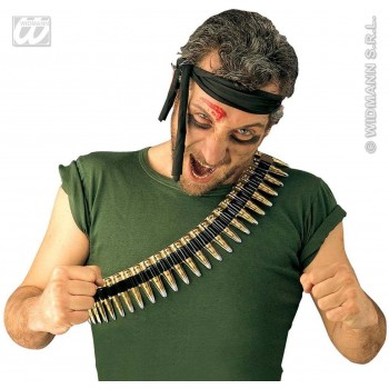 Bullet Belt Pvc - Fancy Dress