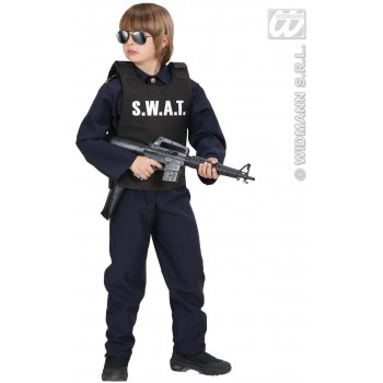 S.W.A.T. Vests - Child Size Fancy Dress Costume (Cops/Robbers)