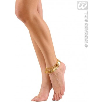 Anklets With Gold Coins - Fancy Dress