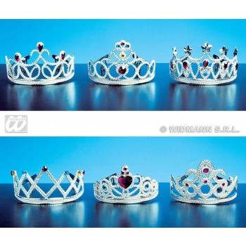 Tiara Crown With Jewels - Fancy Dress