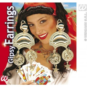 Pairs Of Gipsy Earrings 6 Styles Asstd. Fancy Dress