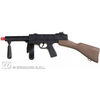 Tommy Machine Guns With Sound - 50Cm - Fancy Dress
