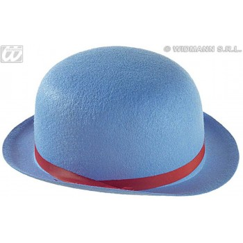 Child Felt Bowler Hats 6 Colors Asstd - Fancy Dress