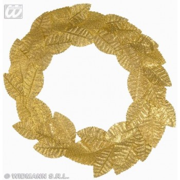 Roman Laurel Headband Gold - Fancy Dress (Roman)