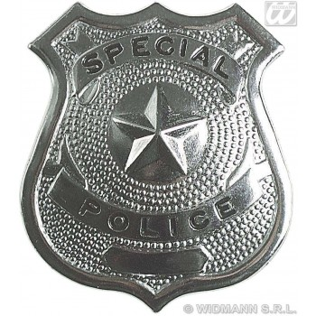Police Badge - Fancy Dress (Cops/Robbers) Sanc3302A