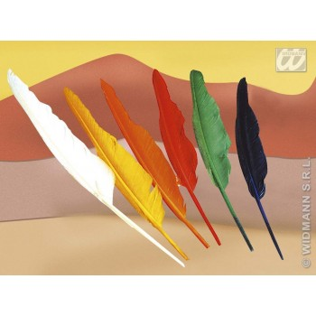 Native American Feathers Asstd Colours - Fancy Dress (Cowboys/Native Americans)