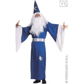 Magician Adult Fancy Dress Costume Mens (Wizards)
