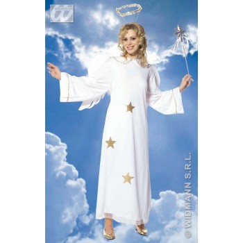 Star Angel Costume/Wings Adult Fancy Dress Costume (Christmas)