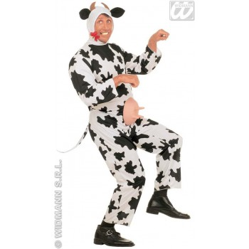 Funny Cow Adult Fancy Dress Costume Mens (Animals)