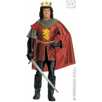 Royal Knight Adult Fancy Dress Costume Mens (Medieval)