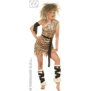 Cavegirl Adult Fancy Dress Costume Ladies (Cavemen)